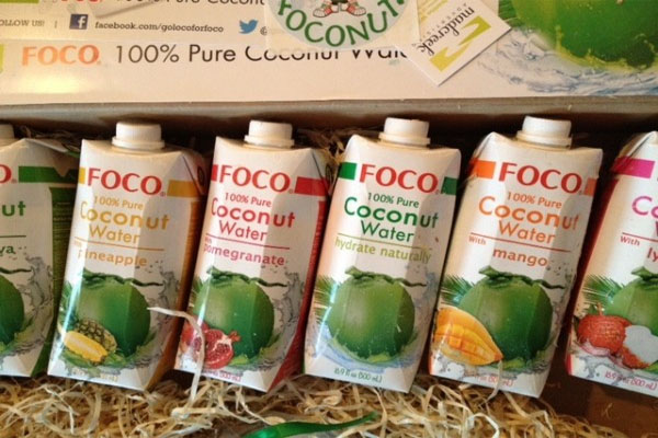 FOCO Coconut Water sponsors Nolcha Fashion Week: New York, presented by RUSK AW13