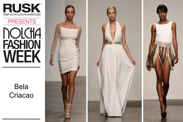 Runway Recap: Bela Criacao at Nolcha Fashion Week: New York presented by RUSK SS14