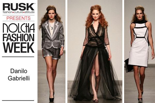 Runway Recap: Danilo Gabrielli at Nolcha Fashion Week: New York presented by RUSK SS14