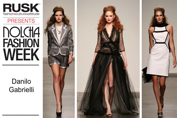 Runway Recap: Danilo Gabrielli at Nolcha Fashion Week: New York presented by RUSK SS14