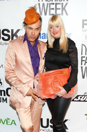 Jo Lance and Kerry Bannigan supporting Homanz at Nolcha Fashion Week: New York, presented by RUSK SS14
