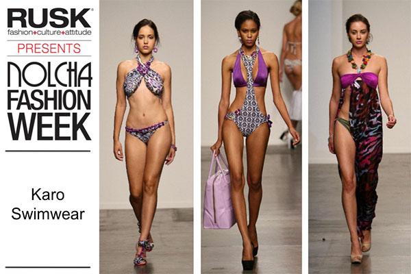 Runway Recap: Karo Swimwear at Nolcha Fashion Week: New York presented by RUSK SS14