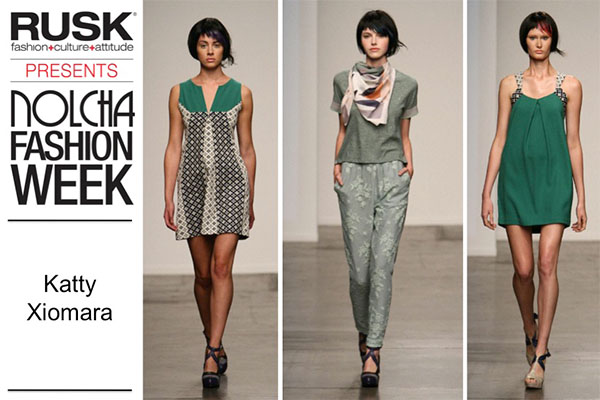 Runway Recap: Katty Xiomara at Nolcha Fashion Week: New York presented by RUSK SS14