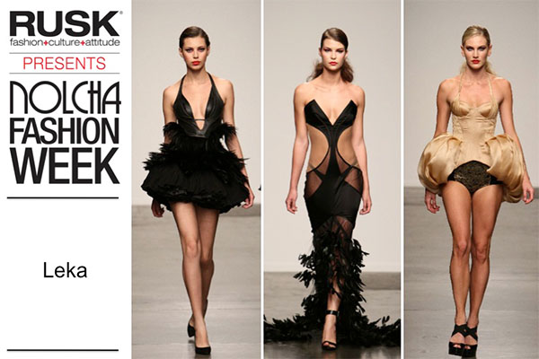 Runway Recap: Leka at Nolcha Fashion Week: New York presented by RUSK SS14