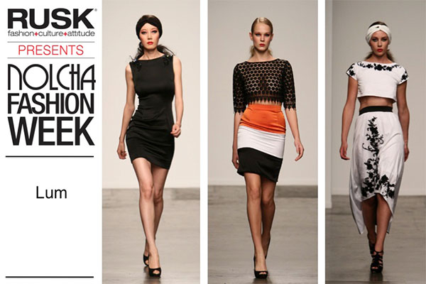 Runway Recap: LUM at Nolcha Fashion Week: New York presented by RUSK SS14