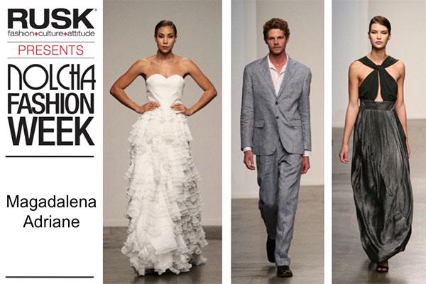 Runway Recap: Magdalena Adriane at Nolcha Fashion Week: New York presented by RUSK SS14