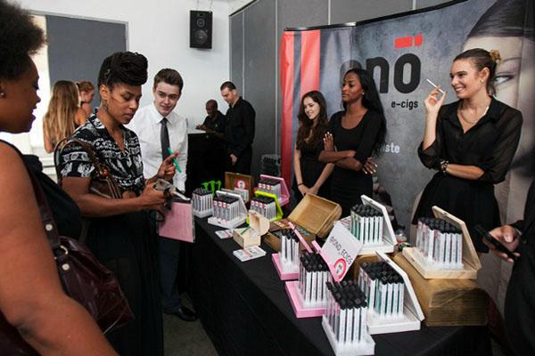 ONO E-Cigs sponsor Nolcha Fashion Week: New York, presented by RUSK SS14