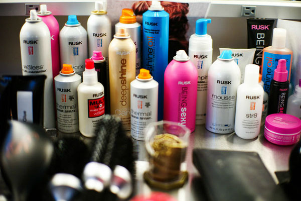 Nolcha Fashion Week: New York SS14 presenting sponsor RUSK Haircare