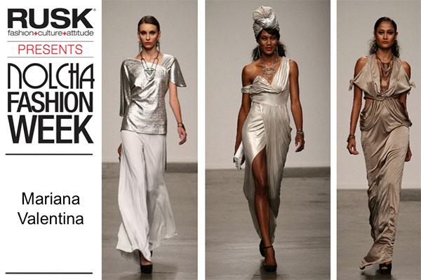 Runway Recap: Mariana Valentina at Nolcha Fashion Week: New York presented by RUSK SS14