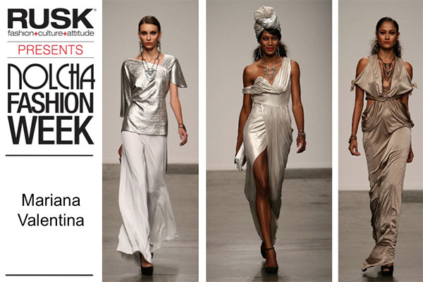 Runway Recap: Mariana Valentina at Nolcha Fashion Week: New York presented by RUSK SS14