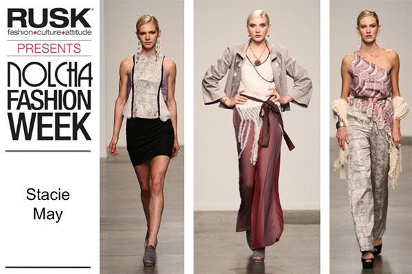 Runway Recap: Stacie May at Nolcha Fashion Week: New York presented by RUSK SS14