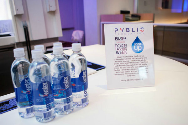 Smart Water Sponsor Nolcha Fashion Week: New York, presented by RUSK SS14