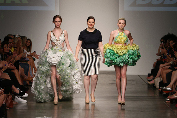 Ainslee Bowers, Nolcha Fashion Week: New York, presented by RUSK SS14