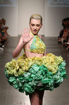 Ainslee Bowers, Project SUBWAY, Nolcha Fashion Week: New York presented by RUSK SS14