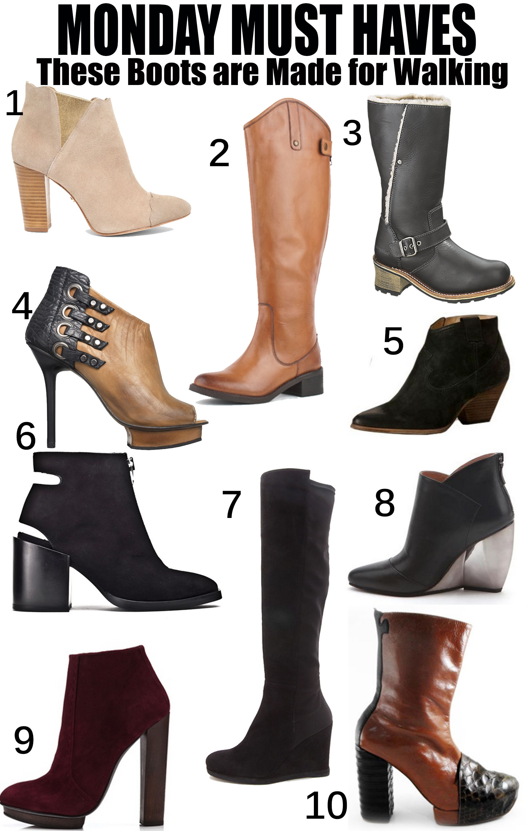 #MondayMustHaves – These Boots are Made for Walking ...